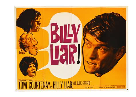filme schauen the good liar billy liar original uk quad poster for the 1963 film