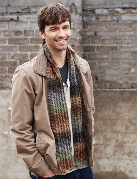 knitting pattern guy hitchhiker s scarf allfreeknitting com