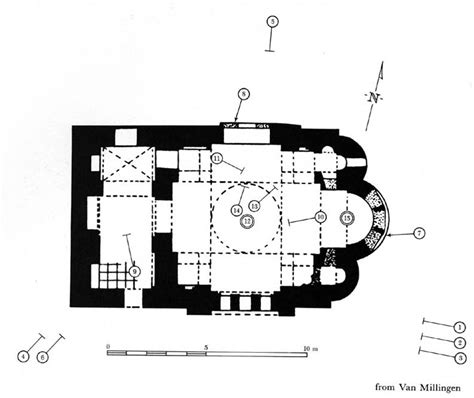 Floor Plan Of Church Institute Of Fine Arts Byzantine Churches