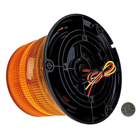 class 1 strobe light sae class 1 led strobe beacon 4 3 4 quot amber led multi