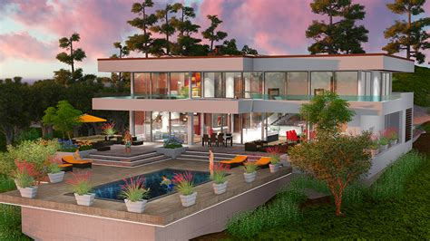 houses on hills the beverly hills dream house project maintains the