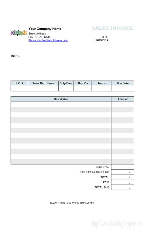 simple sales invoice template general invoice design top 10 results