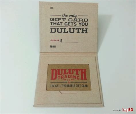 Duluth Trading Gift Card - duluth trading company 100 gift card image on imged