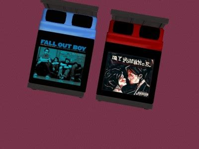 my chemical romance bedroom my chemical romance bedroom mod the sims fall out boy and my chemical romance bedding