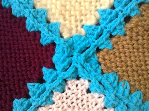 joining knitting together s simply living crocheting knitted squares together