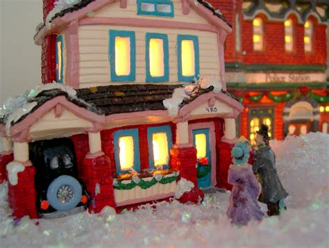 christmas village houses pin ceramic christmas village to paint on pinterest