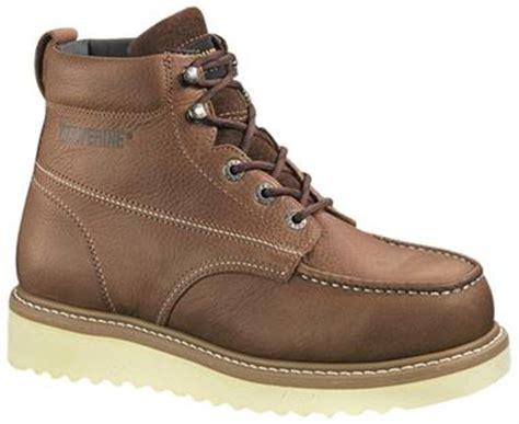 wolverine moc steel toe s work boots rogan s shoes