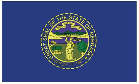 state pictures nebraska state flag