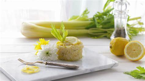 risotto al sedano ricetta risotto al sedano e limone ifood