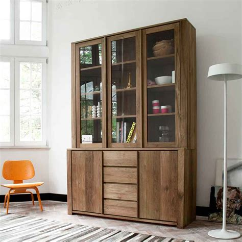 Contemporary Dining Room Furniture Ethnicraft Teak Lodge Cupboard