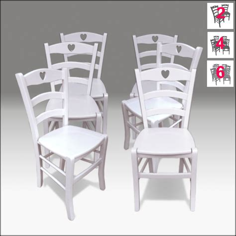 sedie shabby chic sedie country 6 sedie in legno bianche stile shabby