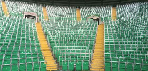 celtic park standing section manchester united among clubs in favour of safe standing