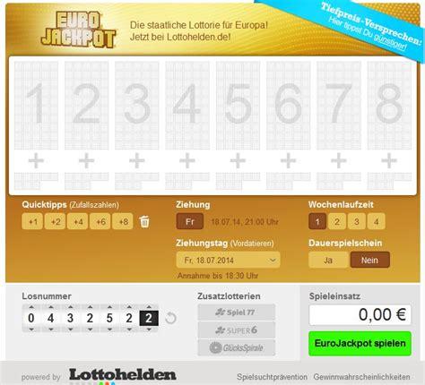 wann kommen lottozahlen lotto brandenburg