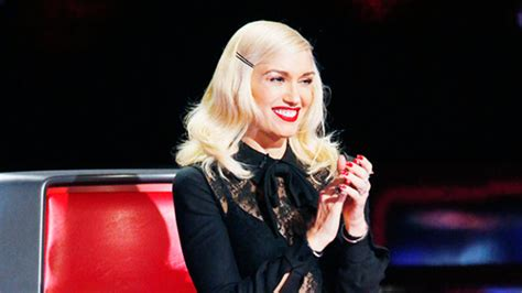 hairstyles on the voice video the voice s gwen stefani style preview instyle com