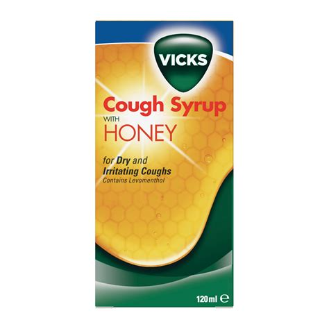 dry couch vicks cough syrup for dry cough