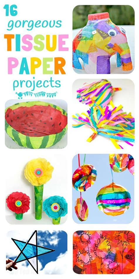 arts and crafts with tissue paper will for and student centered resources on