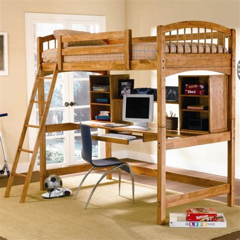 Bunk Beds With Desk On Top Bedroom The Modern Design Of Bunk Beds With Desk Underneath Give The Best Look For You
