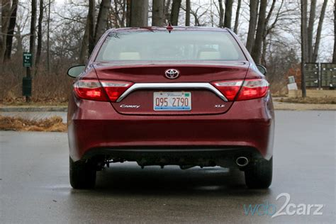 toyota camry xle review webcarz
