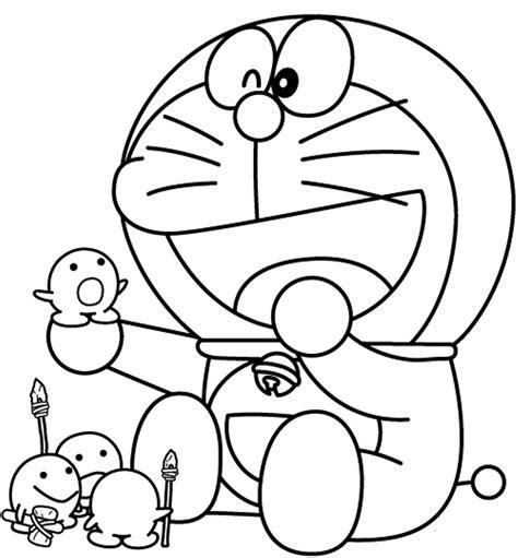 Printable Mewarnai | 10 mewarnai gambar doraemon bonikids coloring page