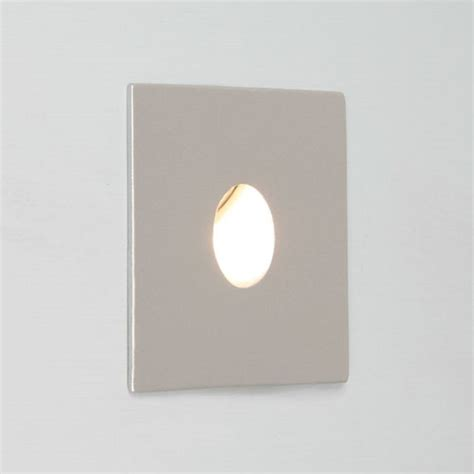 recessed bathroom light square silver recessed wall light ip65 for bathrooms low energy led