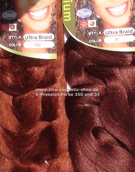 different colours of xpression attachment x pression 174 ultra braid farbe 35 afro cosmetic shop