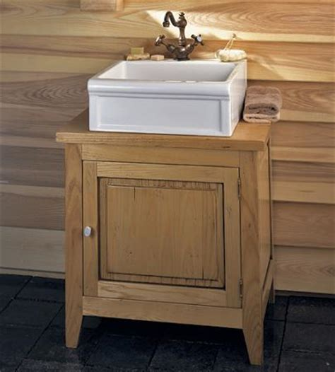 wood bathroom vanities to complete a spa style