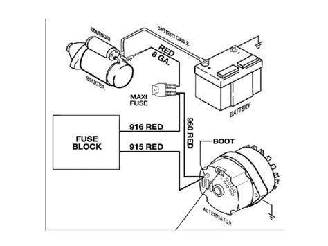 three wire alternator wiring diagram wiring diagram 2018