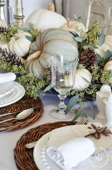 lambs farm lights gift craft fair 30 cozy and inviting fall table d 233 cor ideas digsdigs