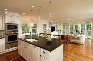 Kitchen And Living Room Designs Mesmerizing Top Open Living Room Kitchen Designs Layouts
