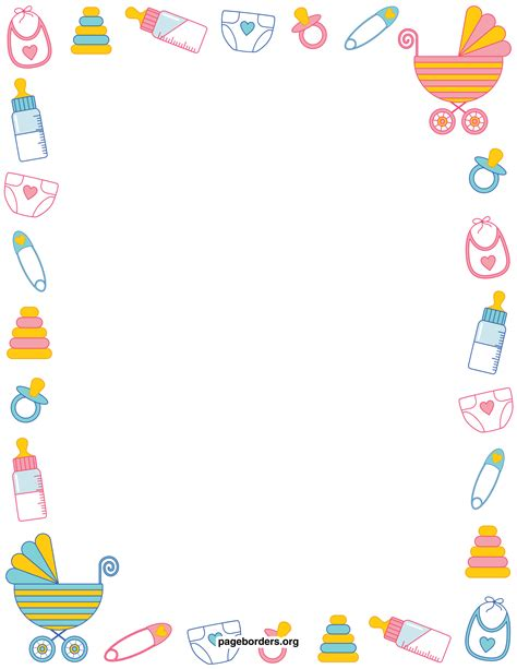 baby borders for microsoft word cliparts co baby border for word clipart clipart suggest