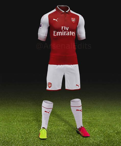 arsenal jersey 17 18 arsenal edits on twitter quot i ve updated my mock up for