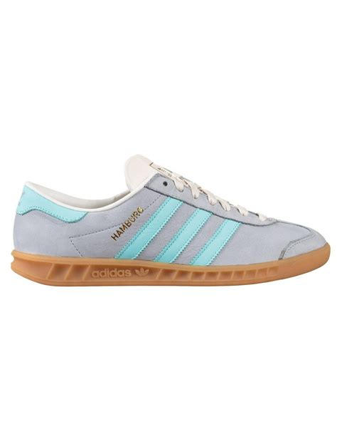 adidas originals hamburg shoes clear onix trainers from iconsume uk