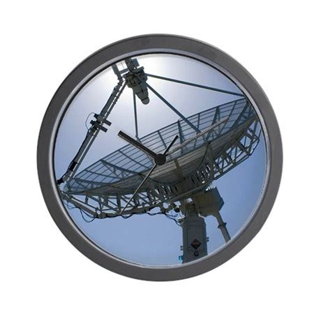 satellite communications antenna wall clock by admin cp66866535