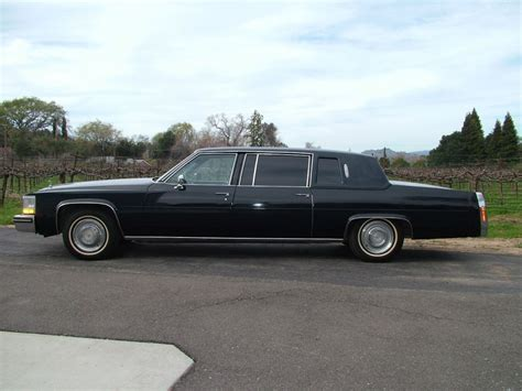 cadillac limousine cadillac fleetwood limo sale