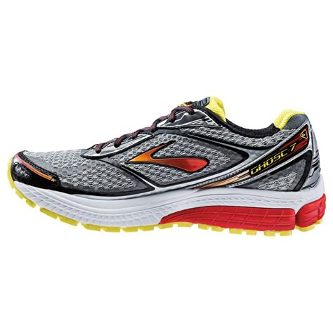 running shoes wide ghost 7 road running shoes silver black marsred 2e width