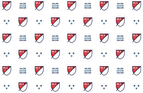 repeat pattern font brand new new logo for mls by athletics and berliner benson