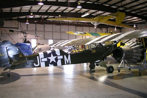 4h 1 L Piper L 4h Grasshopper Wwii Two Seat High Wing Monoplane