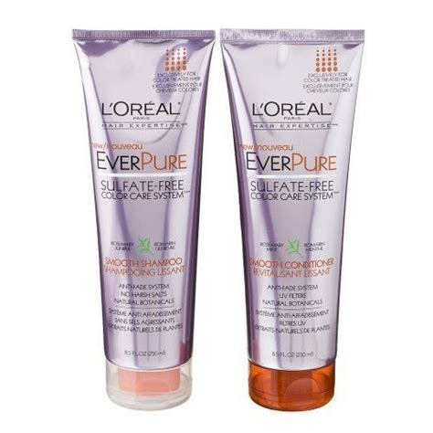 best color safe shoo everpure shoo shoo conditioner by loreal loreal