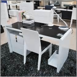 Glass Office Desk Ikea Ikea Computer Desk With Glass Top Hostgarcia
