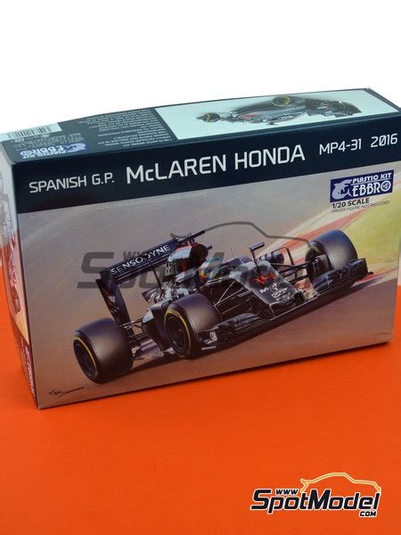 honda model car kits ebbro model car kit 1 20 scale mclaren honda mp4 31
