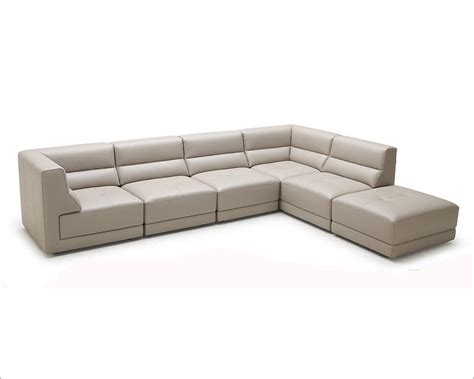 eco couches eco leather sectional sofa in modern style 44l5983