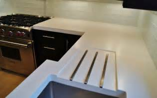 Countertop White by Concrete Countertops That Make A Statement Platinum