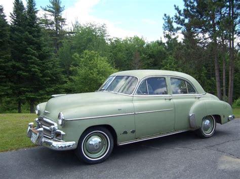 chevrolet 4 door 1950 chevrolet styleline deluxe sedan 4 door