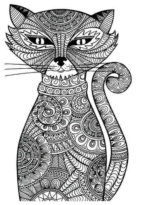 adult coloring pages cat 1 coloring pages pinterest 21 fantastiskt fina m 229 larbilder du kan ladda ner och