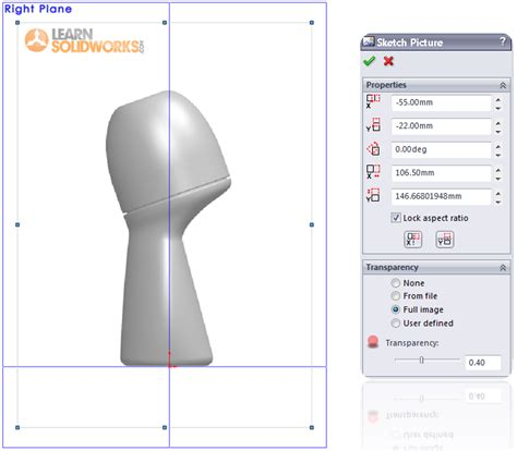 solidworks tutorial blueprints how to model a deodorant roller in solidworks