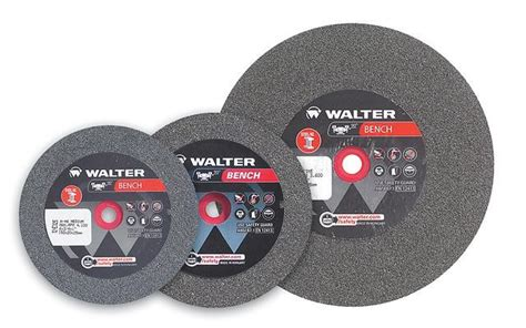 5 inch bench grinder wheel walter 12e348 6 quot x 1 quot x 1 quot fine 80 grit bench grinding