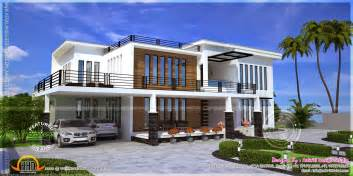 home view contemporary house view kerala home design and floor plans