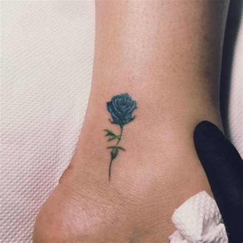 the blue rose tattoo best 20 blue tattoos ideas on