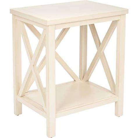 white wood end table delaina white wood end table 4m182 ls plus