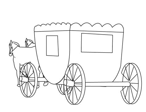 free coloring pages of baby carriage